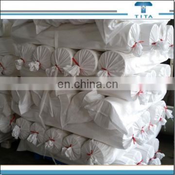 Raw white 30GSM pva water absorbing material fabric nonwoven fabric with width of 1.0-3.2m for embroidered lace from China