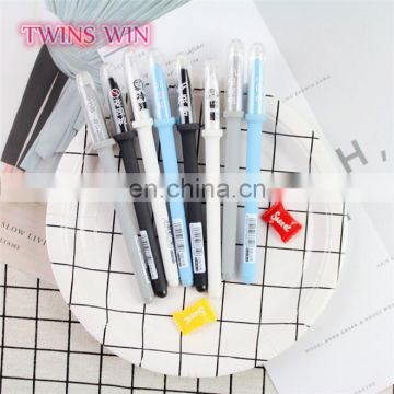 Sri Lanka Top Grade office supplies and stationery 2018 popular cute cheap erasable colored pens plastic gel ink pen kawaii