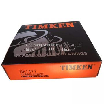 Timken Bearing Made 47686/47620 2018 Hot Sell Inch Taper Roller Bearings