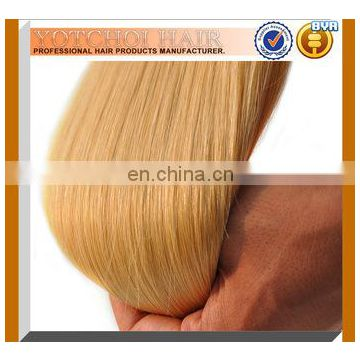 Silky Straight Beauty Blonde Best Quality Cheap Russian Hair Weaving