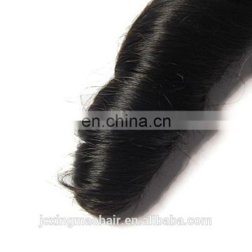 5A 6A 7A grade raw unprocessed beautiful spring wave human hair extension virgin peruvian hair