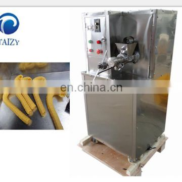 J shape Soft corn tube ice cream machine corn puffed machine for ice cream