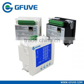Multifunction power meter with monitoring software