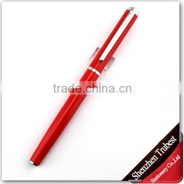 red gift fountain pen