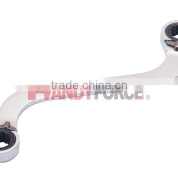 S-Shape Box End Reversible Ratchet Wrench Series, Wrench and Spanner Tool of Auto Repair Tools