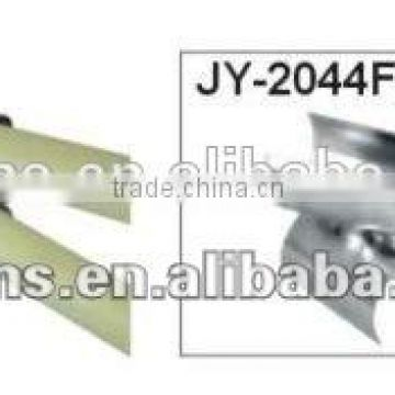 JY-2044FF|Alum alloy frame plastic roller skate wheel conveyor Roller Track for Pipe Rack System