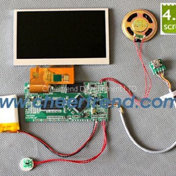 The newest video card 43 inch video greeting card module for the newest video card 43 inch video greeting card module for greeting cardtft lcd m4hsunfo