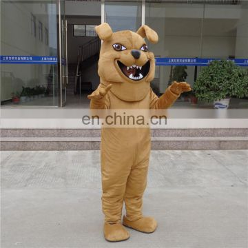 Crazy sale fast deliver animal mascot bulldog mascot costume