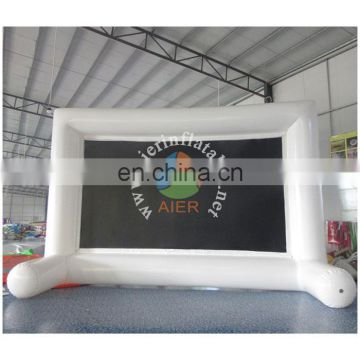 Inflatable White Screen , Outdoor Inflatable Screen for sale , Inflatable Movie Screen