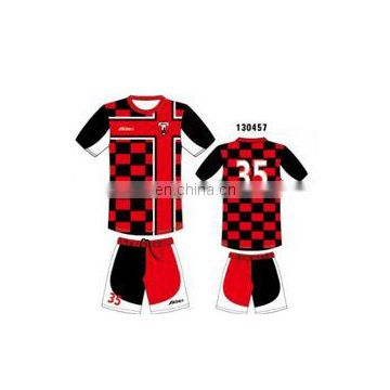 Custom Design Cheap Soccer Uniform Wholesale Factory