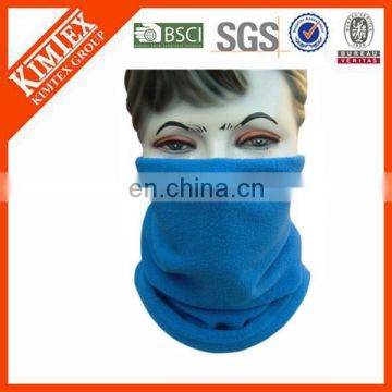 Polar fleece winter neck warmer snood scarf hat