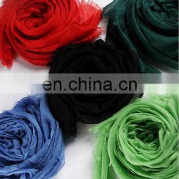 2013 Winter plain dyed wool scarf