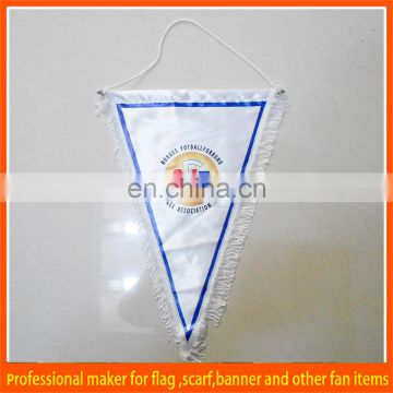 Printed sports cheap triangle flag