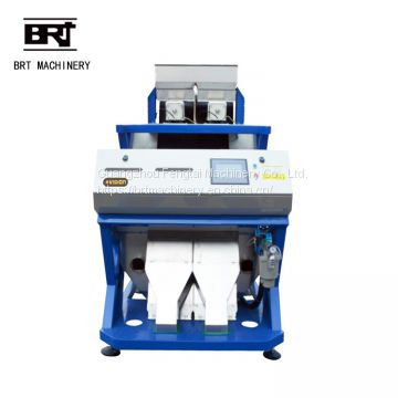 CCD camera rice color sorter