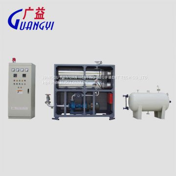 electric thermal oil heater for heating reaction kettle in chemical industry