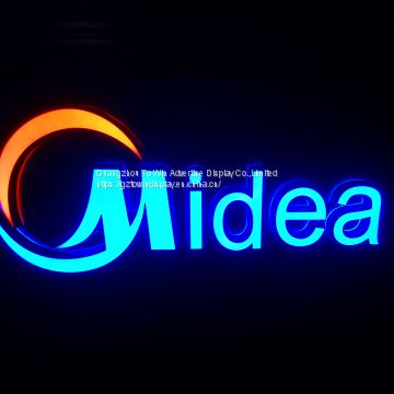 business logo acrylic sign custom LED logo