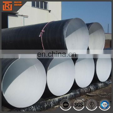 piles sizes 219-3000mm sprial pipe carbon large diameter ssaw spiral steel decorative metal pipes