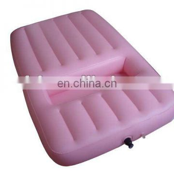 Inflatable fashion air bed
