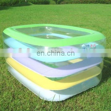 Hot sale Inflatable square swimming pool