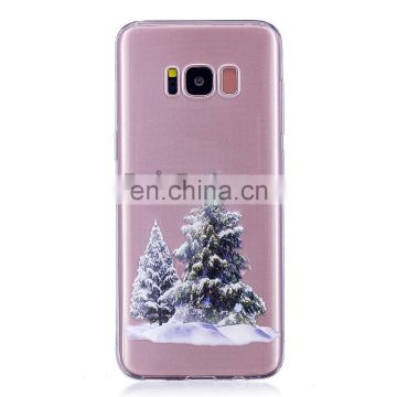 Colored Painting Christmas Phone Case for Samsung Galaxy S8 Plus