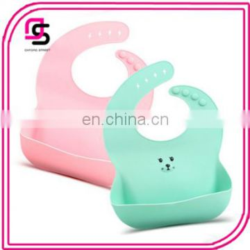 Creative design wholesale hot selling baby waterproof baby silicone bibs