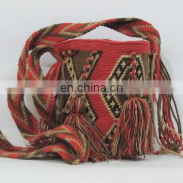 Brown And Red Color Sgh Reference Bags