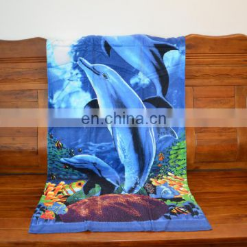 Soft Superfine Extra Large-Absorbent Large Sea World Character Beach Towel manufacturer