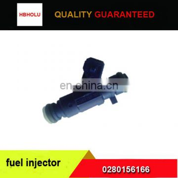 0280156166 fuel injector for BYD FOTON HAFEI JAC SOUEAST ZOTYE