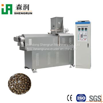 Fully automatic fish feed pellet extruder machine