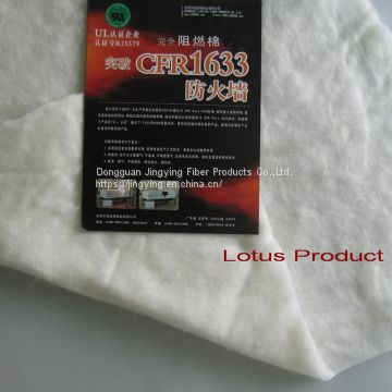 China supplier provide california 1633 wadding for mattress  Flame retardant viscose padding
