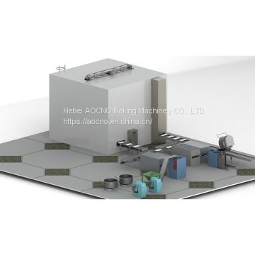 Stainless steel full automatical divider divider and rounder/Hamburger production line/Hamburger machine