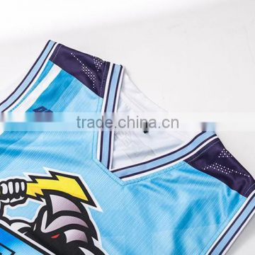 high quality sleeveless new design sublimation baskeball uniforms for women