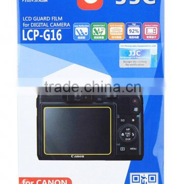 LCD Protector JJC LCP-G16 Guard Film Protector For Camera LCD Screen Protector For Canon