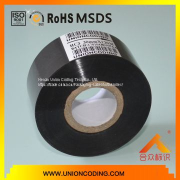 HC3 type Black color 30mm hot foil ribbon