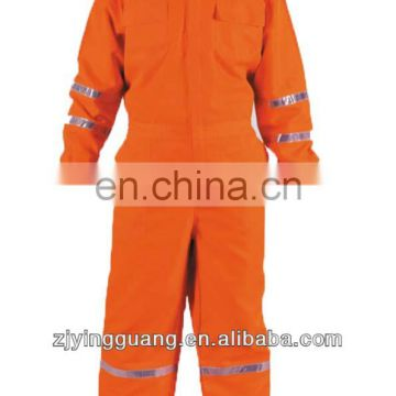 High-vis Coverall, Made of 100% Cotton with PVC