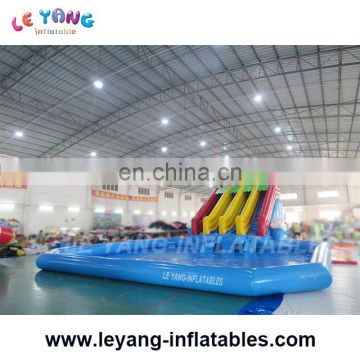 gaint Dolphin inflatable water park, inflatable water amusement park with pool,Inflatable pool with slide