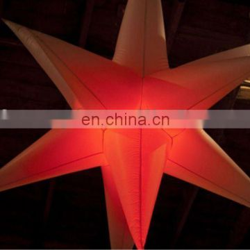 Wedding inflatable LED star