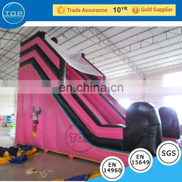 TOP INFLATABLES Hot selling slip and for adult giant inflatable water slide