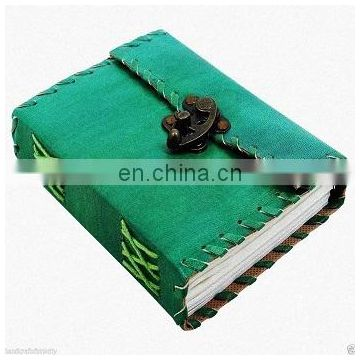 Leather Cover Notebook Journal Diary Sketchbook Leather Cover Thick Blank Pages