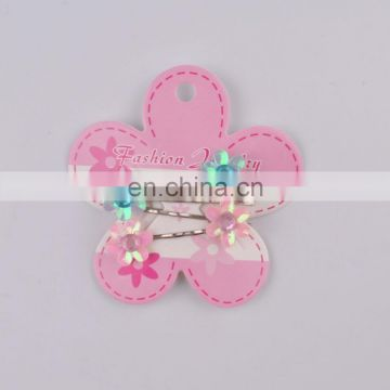 new style fashion cheap metai hair clips for kids
