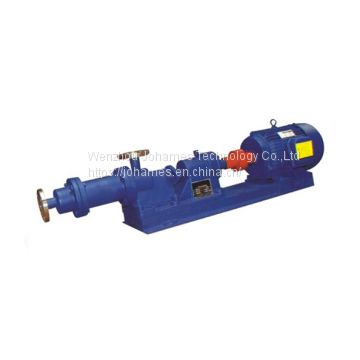 I-IB CI SS electric mono screw pump