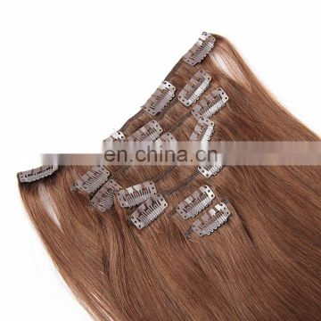 Wholesale Hair Afro Clip In Hair Extensions Silky Straight Wave Free Sample