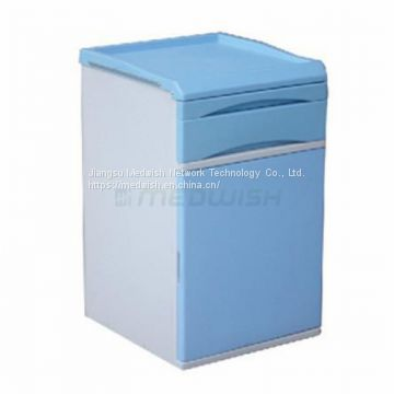 AG-BC020 ABS Material Hospital Patient Bedside Cabinet With Castors