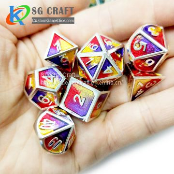 Custom Cheap Metal Dice from China