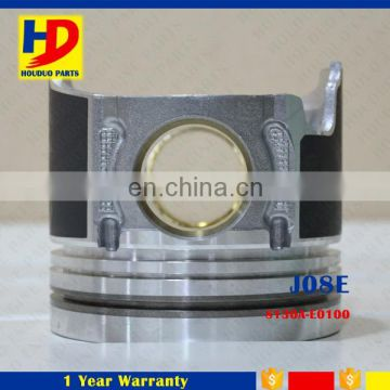 J05E Diesel Engine S130A-E0100 Piston for Hino Truck Parts