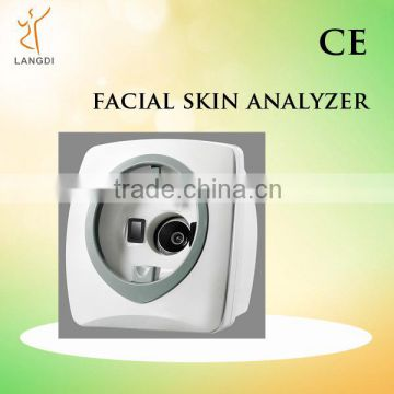 Langdi LD6021C skin health analysis machine/portable hair and skin analyser equipment