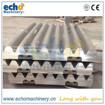 track jaw crusher spare parts jaw plate