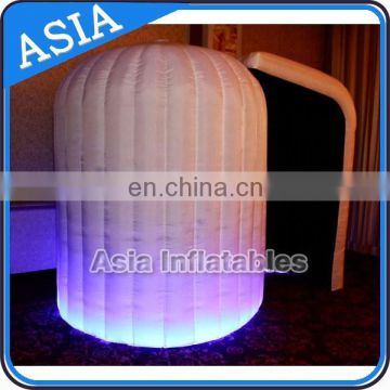 Lighting Used Spray Photo Booth For Sale / Best Sale Inflatable Photo Booth