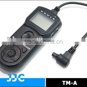 JJC TM-A Timer Remote Controller&Camera Remote Switch replaces TC-80N3 for Canon EOS 7D etc