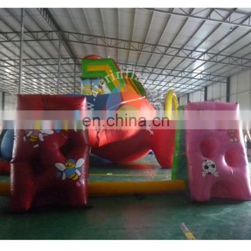 high quality inflatable sport combo soft play / indoor soft play equipment for sale